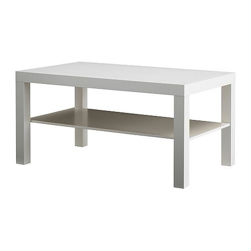 White lounge tables
