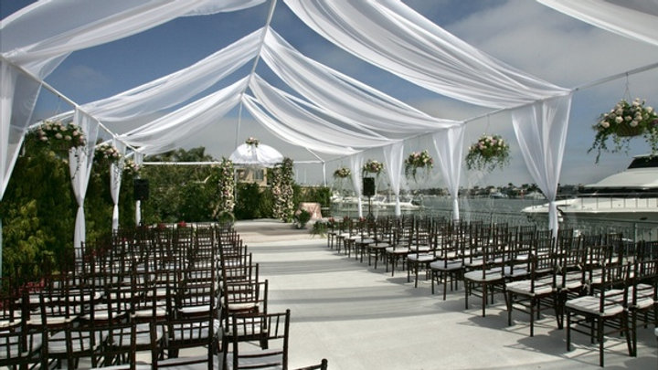 20*40 Tent with partial draping