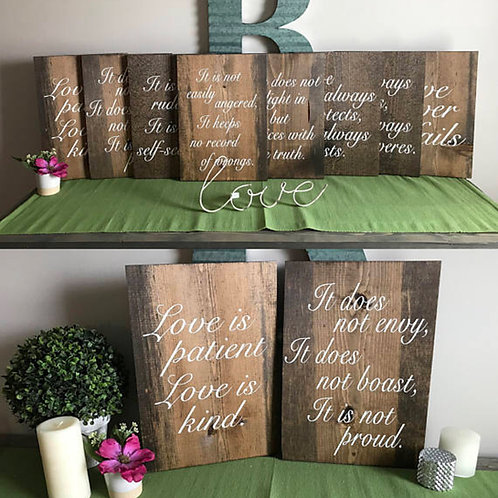 Aisle Signs Available