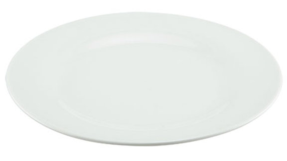 White Salad plate 7.5 inch