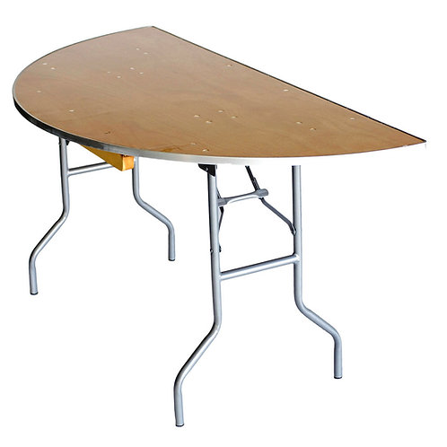"""48"""" half moon table"""