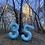 Thumbnail: Light Blue Number 5 34″ Balloon