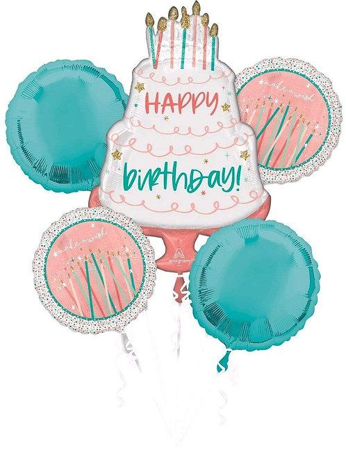 Happy Birthday Balloon Kit