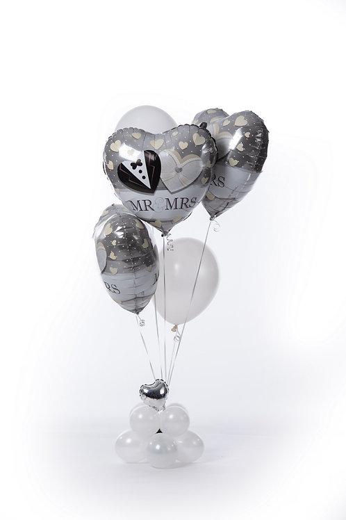 Heluim fillet Balloon bouquets