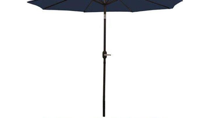 Navy Blue Umbrella with base