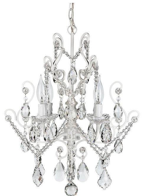 Vintage Silver Chandelier