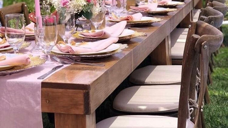 Rustic Tables for 6