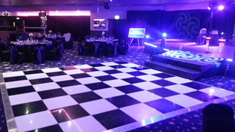 Dance floors 12 by 12