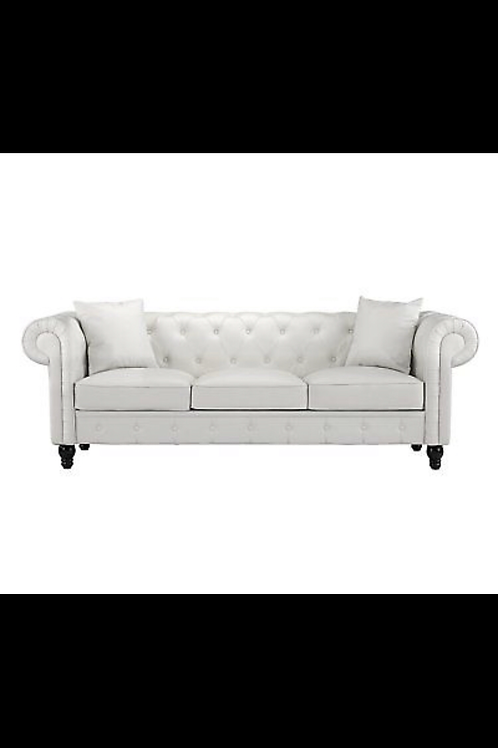 Chester white 3 seater