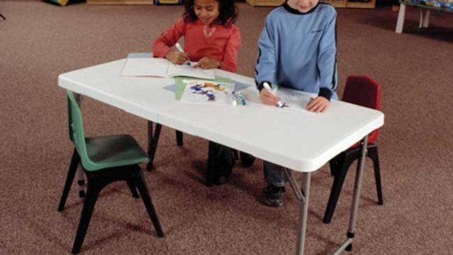 Children 6 foot table
