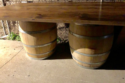 Wine Barrel Table 4 by 7