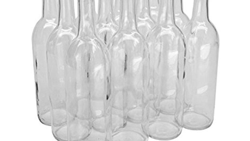 Bordeaux Wine Bottles case of 12 Customized
