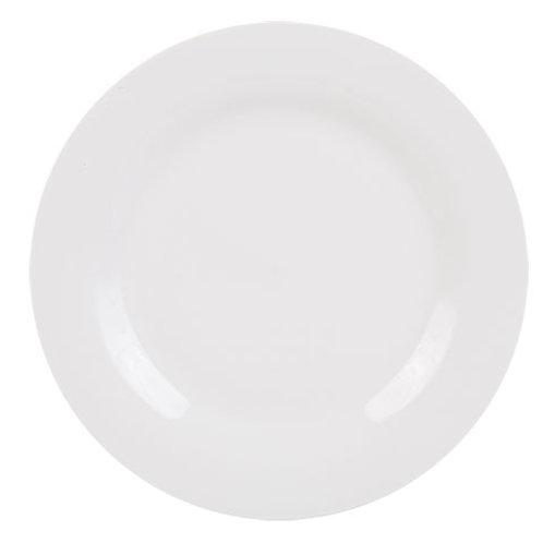 White 10.5 Dinner plate