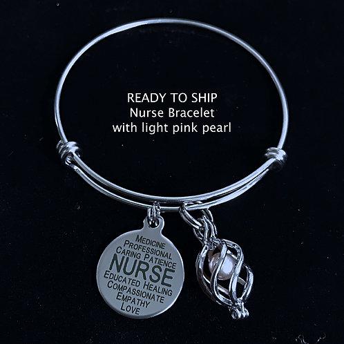 Nurse Bracelet- Ready to Ship