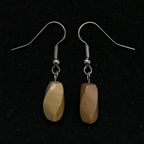 Twisted Wood Fashion Earrings