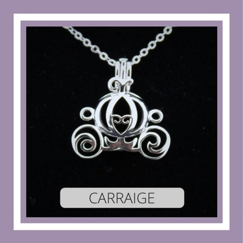 Sterling Silver Carraige