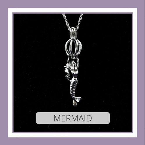 Silver Plated Mermaid