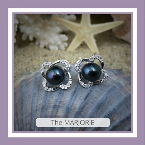 The MARJORIE earrings