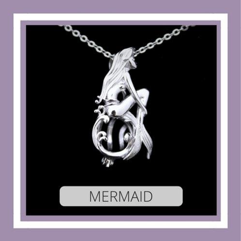 Sterling Silver Mermaid