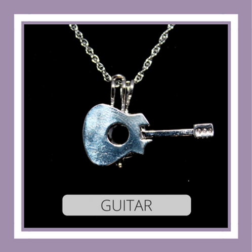 Silver Plated Guitar
