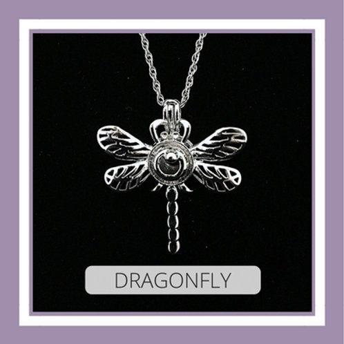 Silver Plated Dragonfly
