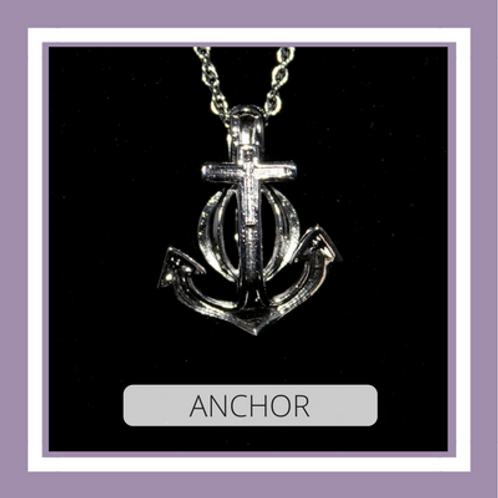 Silver Plated Anchor