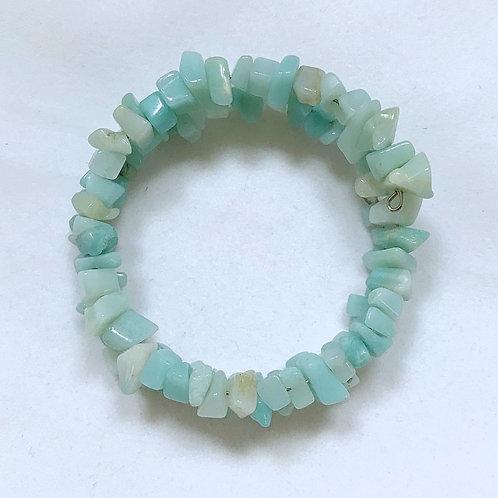 Small Teal Stone Fashion Bracelet