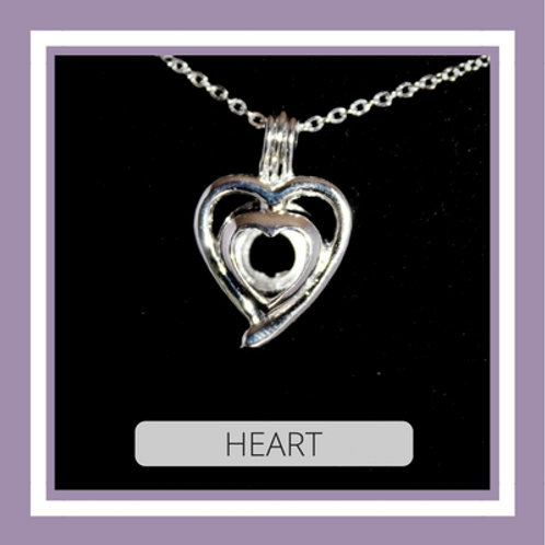 Silver Plated Heart