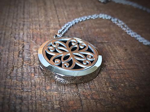 Round Flower Necklace