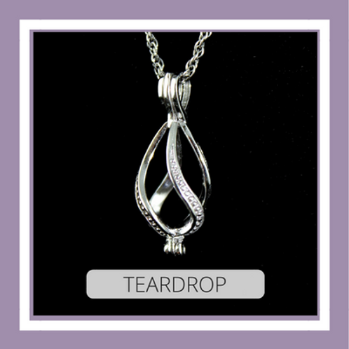 Sterling Silver Teardrop
