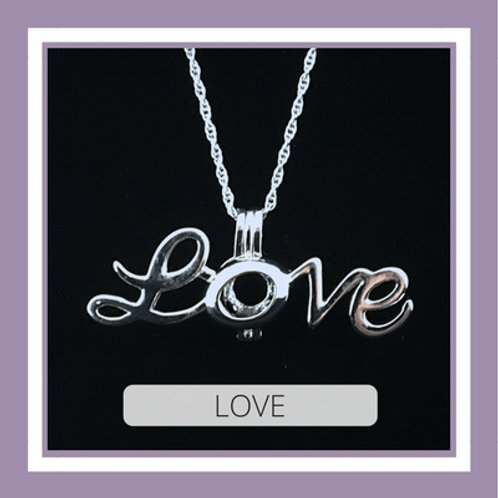 Silver Plated Love