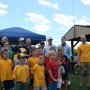 Cub Scouts Visit the Field