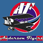 The club website is available via AndersonFlyers.com or AndersonFlyers.org