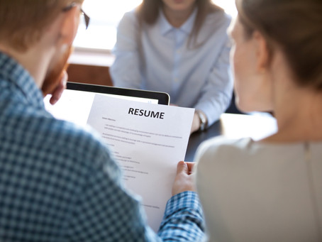 Creating a Resume that stands out!