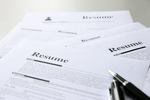 resume on table Office Business.jpg