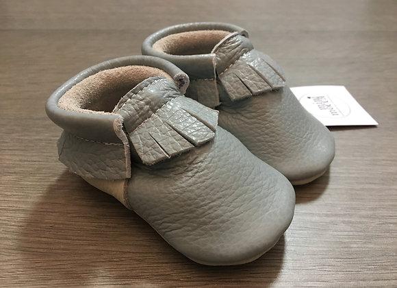 Minimocca Grey moccasins