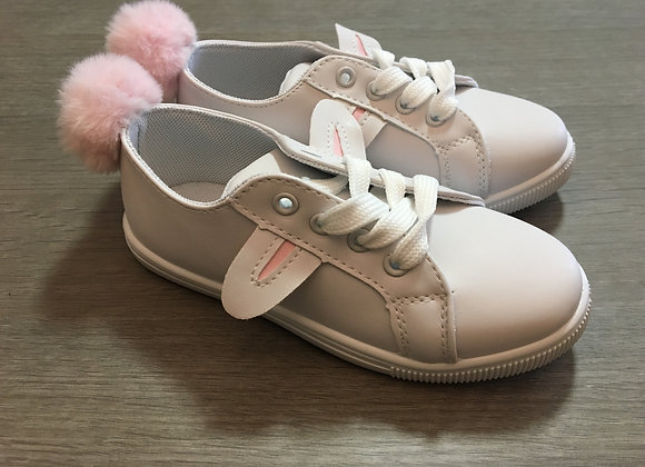 White Bunny Style Sneakers