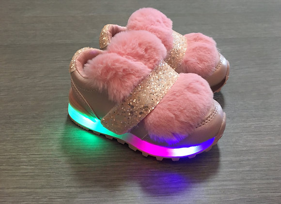 Pink LED sneaker