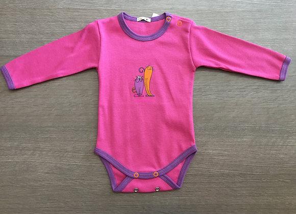 BonBon long sleeve body Dark Pink