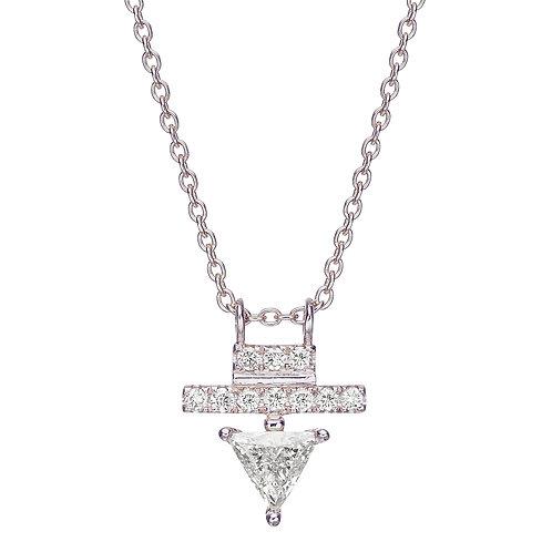 Harmony Necklace White Gold