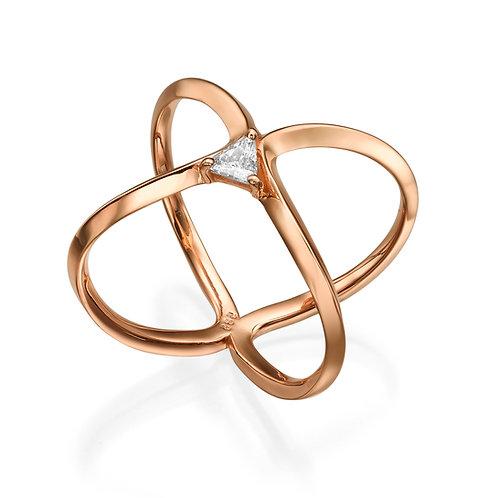 La Reina Ring Rose Gold