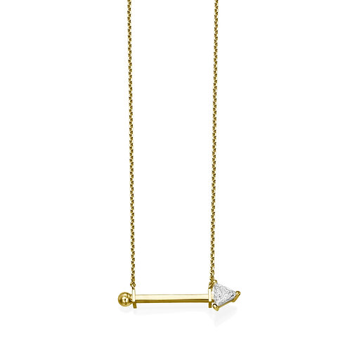 Dotty Necklace Yellow Gold
