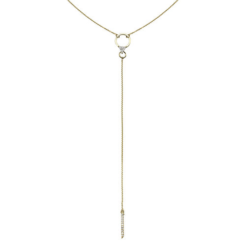 Yota Necklace Yellow Gold