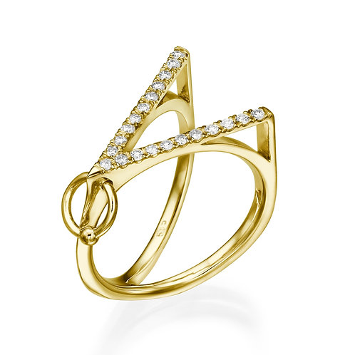 Vini Ring Yellow Gold