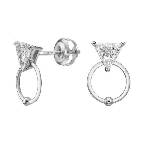 My Diamond Stud Earrings White Gold
