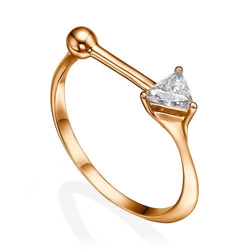 Dotty Ring Rose Gold