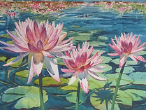 8_August_John_Howard_Water_Lilies.JPG