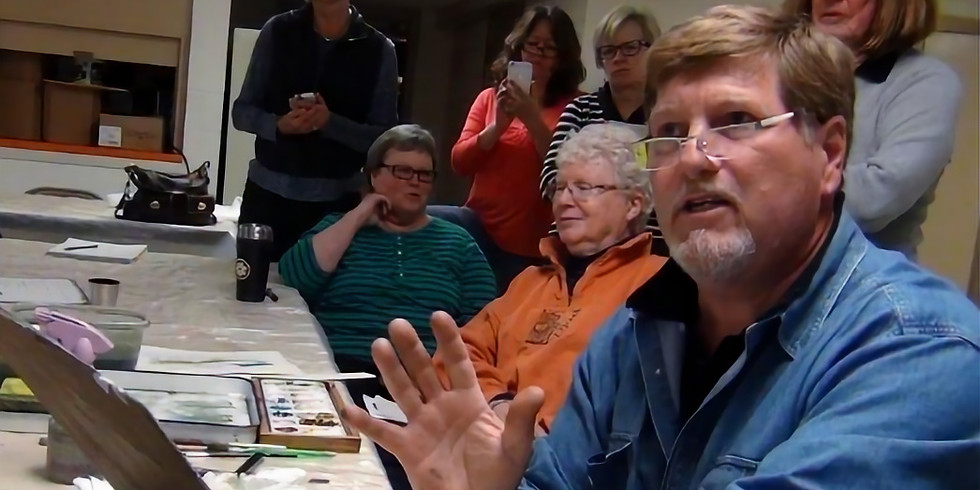 Painting Rivers, Rapids, and Waterfalls in Watercolor with Dale L. Popovich