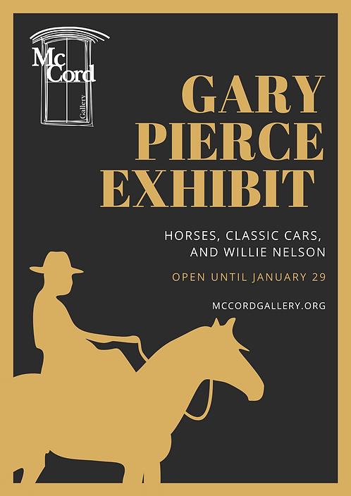 Vintage Brown and Black Horse Poster.png
