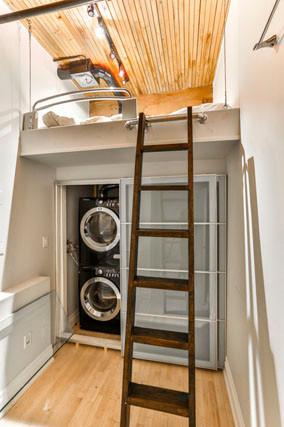 Laundry Room / Loft Bed